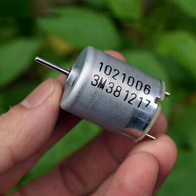 JOHNSON 1021006 RK-370CA-10800 DC 12V-24V 3300RPM Mini Mute 24mm Round Motor