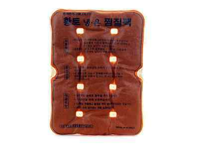 Reusable Red Clay Fomentation Hot & Cool Massage Pack SIZE M, Heat &Cold Pad