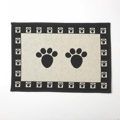 Paws Tapestry Pet Food Placemat