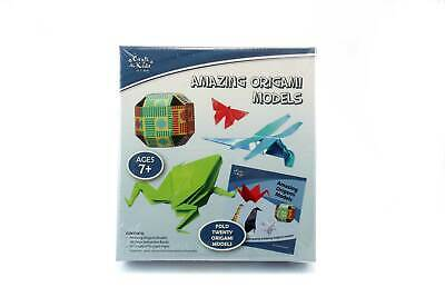 Amazing 20 Coloured Origami Models Kit - Educational KIDS Arts & Crafts DIY
