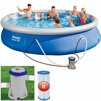 Quick UP Pool Swimming Pool Planschbecken Schwimmbad 457x84cm Fast Set Pool