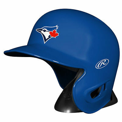 Toronto Blue Jays Rawlings MLB Mini Replica Baseball Helmet w/Stand