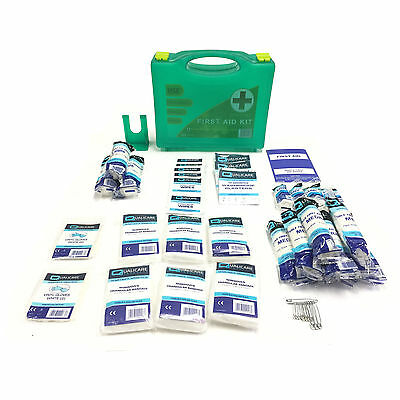 20 Person Emergency Medical Home Work Hse Approved Quality Deluxe First Aid Kit