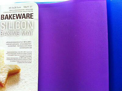 Large Silicon Baking Placemat Cake Bread Biscuit Cooking Tray Non Stick Mat