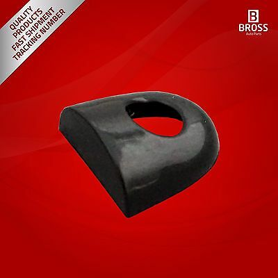 2X Door Handle Lever Cap Cover With Key Hole Black Color for Renault Megane