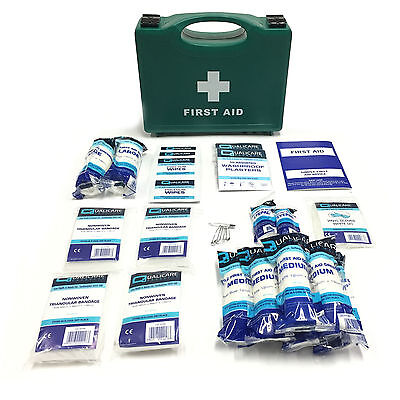 Small Medical Complete Office Home Work Shop Essential Quality Bsi First Aid Kit