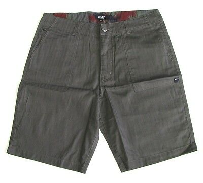 HUF Shorts Worldwide grey Größe 34