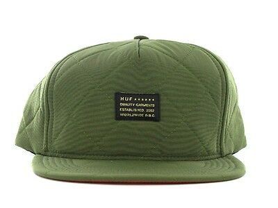 HUF Caps Baron Quilty olive