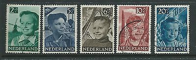 Netherlands 1951 Charity Set Fine  Used Cat£18