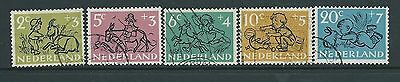Netherlands 1952 Charity Set  Used Cat£11