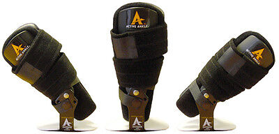 Active Ankle Multi-Phase Brace Support Orthosis Stirrup Ankle Guard with Strap