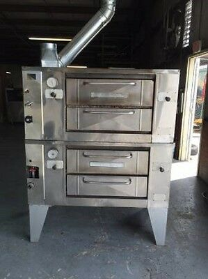 Baker's Pride Double Deck Pizza Ovens  Mdl 805
