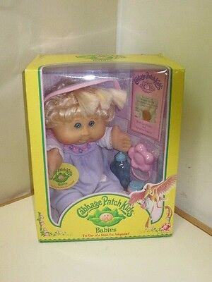 Cabbage Patch Doll ~ 2005 Babies ~ Ariella Sylvia ~ Aug 28 ~ Blue Eyes ~ Blond