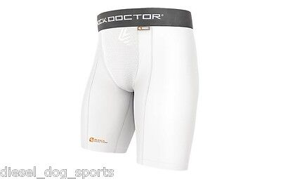 Shock Doctor 220 Core Compression Shorts w/ Cup Pocket
