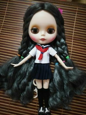 """HOT!12"""" Neo Blythe Doll  Matte Face Joint Body Nude Doll from Factory CA5011"""