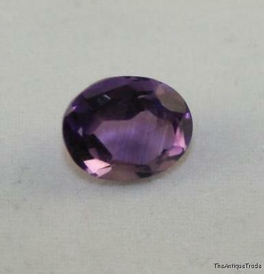 Natural Gemstone Faceted Oval 8X10 Loose Amethyst Gem 2.5Ct Royal Purple Am37