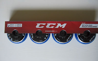 CCM Labeda Inline Replacement Wheels! Roller Skate Wheels, 80 76 72 68 mm sizes