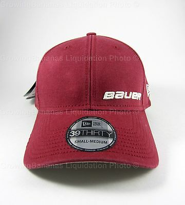 Bauer New Era Classic 39Thirty Hockey Hat! Fitted Cap, SR All Sizes S M L