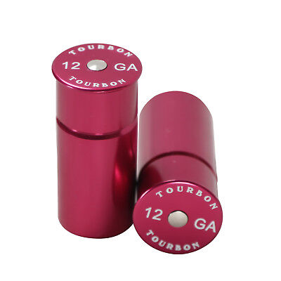 Tourbon Snap Caps Set of 2 Aluminum Dummy Rounds Training 12 GA Gauge Shotgun