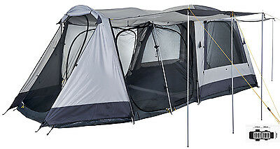 Oztrail Chalet 4V Plus Dome Family Tent (Sleeps 8)
