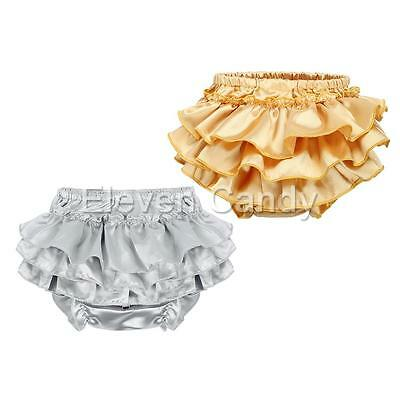 Baby Toddler Infant Girl Ruffle Bloomer Panties Petti Shorts Briefs Diaper Cover