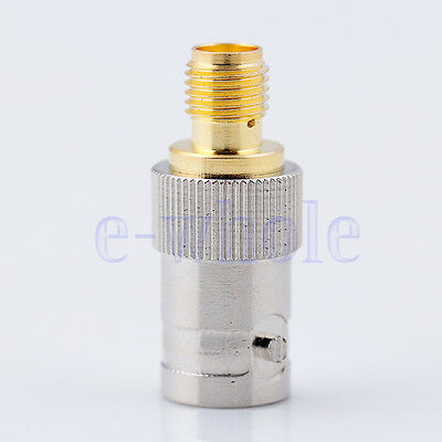 SMA to BNC SMA-F to BNC-F Adapter Adaptor Connector for BaoFeng UV-5R UV5R TR EW