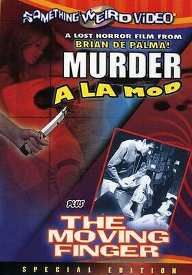 Murder a La Mod/The Moving Finger [Special Edition] (2008, DVD NEUF) DVD-R