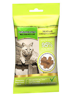 Nature Menu Cat Treats Chicken & Turkey 60g • EUR 3,71
