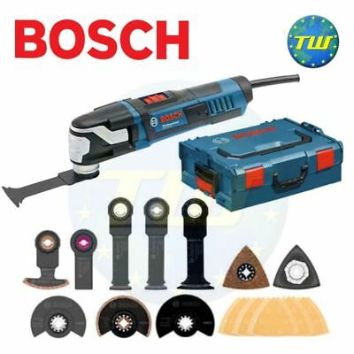 Bosch GOP55-36 Heavy Duty Star Lock Oscillating Multi Tool LBoxx + 25pc Kit 110V
