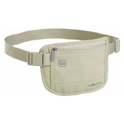 NEW Go Travel RFID Blocking Cream Money Belt