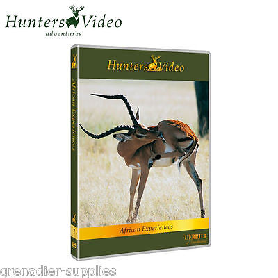 African Experiences Hunters Video Hunting Dvd
