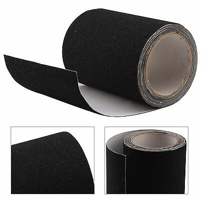 15CMx5M High Grip Anti Slip Tape Non Slip Adhesive Backed Conformable Black