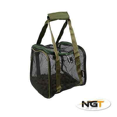New NGT Air Dry Boilie Bag With Hook Bait Pouch
