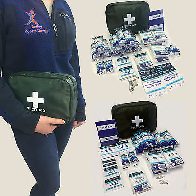 Hse Quality Home Work Travel Office Deluxe Full Medical First Aid Kit Carry Bag