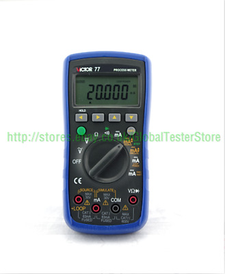 VICTOR 77 Process multimeter / Calibrator Meter Multifunctional !!NEW!! VC77