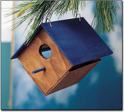 Kids Make Your Own Bird House Unfinished Wood Wooden Craft Project Kit T168