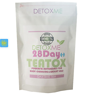 Detox Tea 28 Day Teatox Body Cleansing Herbal Supplement