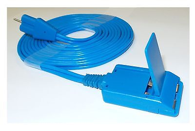 ValleyLab Compatible Reusable Grounding Pad Cable