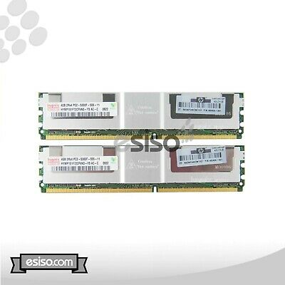 2RX4 PC2L-5300P MEMORY FOR G5 AMD 2X4GB 483403-B21 HP 8GB