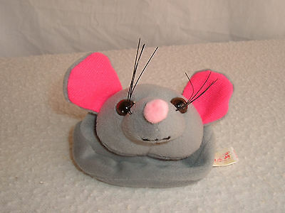 Rat or Mouse Face Keychain Coin Purse from R.A.T.S.
