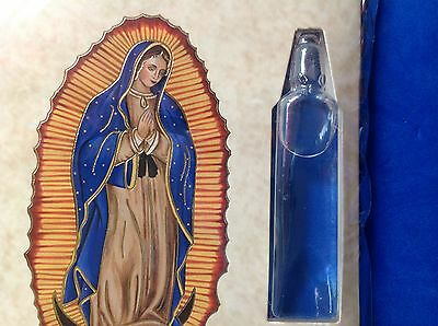 Holy Water Vial Direct From GUADALUPE Healing Devotion Our Lady US Seller Mexico