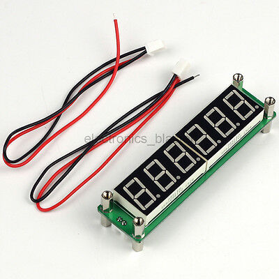 0.1-65MHz 6bit LED Frequency Counter Cymometer Tester Module DC 8-15V PLJ-6LED-A