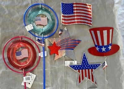 Wholesale Lot 4th of July Memorial Day Holographic Pathmarkers Approx. 47 Pieces