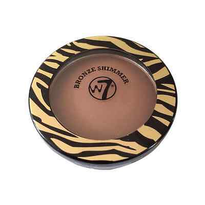 W7 The Bronzer Shimmer Compact 14g New & Sealed