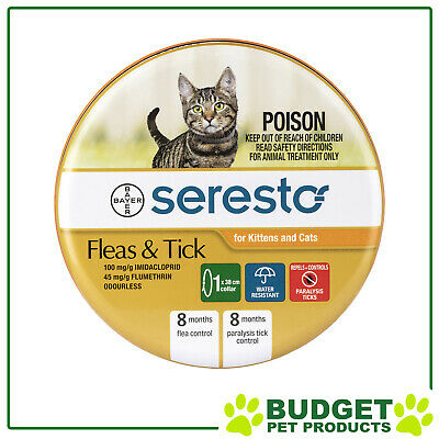 Advantage Seresto Flea Collar For Cats & Kittens