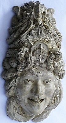 Lot Of 3: Goddess Of Happiness & Light, A Unique Handmade Stone Sculpture