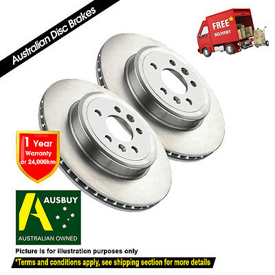MITSUBISHI Outlander ZH LS 276mm 08/2010-10/2012 FRONT Disc Brake Rotors (2)