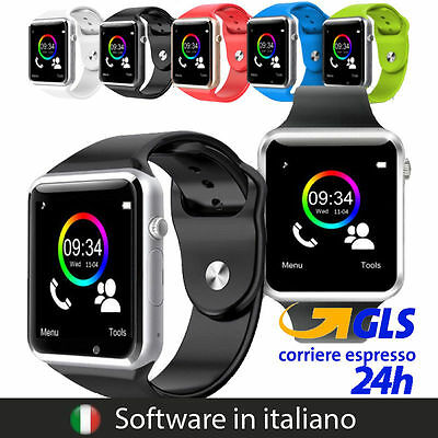Dz09 Smartwatch Orologio Compatibile Con Android Ios Windows In Lingua Italiano