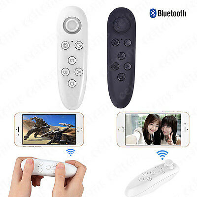 Wireless Bluetooth Gamepad VR-BOX Remote Control for Samsung iPhone Android IOS