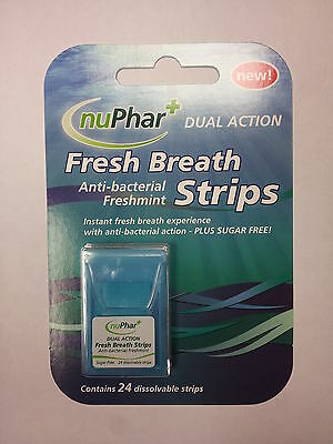 NuPhar Fresh Breath Strips - get the instant fresh breath experience! single pk